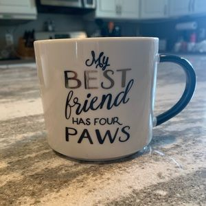 Threshold My Best Friend Has Four Paws Coffee Mug